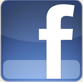 facebook logo homepage
