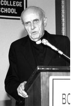 Father Robert F. Drinan, S.J., who served as the Dean of BC Law from 1956 through 1970