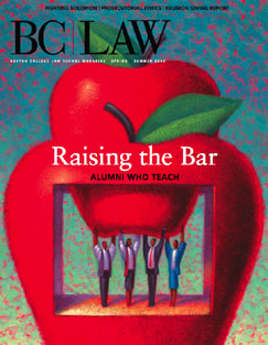 BC Law Magazine Spring/Summer 2006 cover