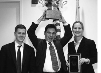 John J. Gibbons Criminal Procedure Moot Court winners