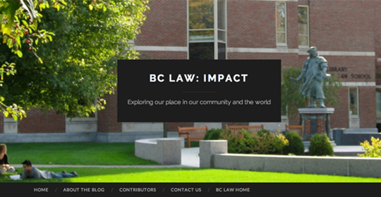 BC Law Student Impact Blog
