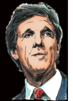 John Kerry Illustration