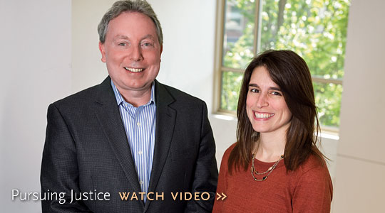 pursuing justice, watch video