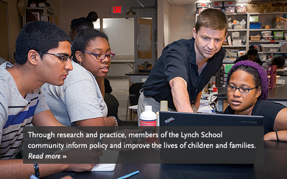 Learn more about the Lynch School of Education.