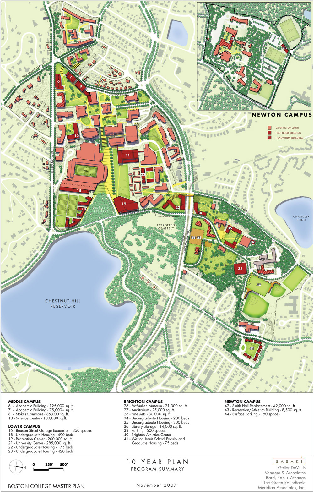 Maps & Drawings - IMP - Boston College