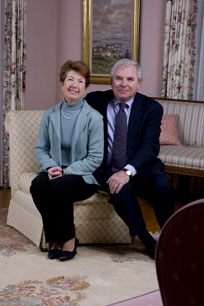 James Mahoney Jr. '65 with wife Sarah Ann