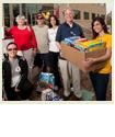BC Alumni Association Food Drive