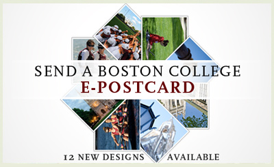 Boston College Spring Postcards