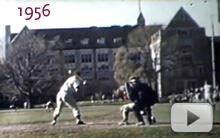 Baseball on Alumni Field
