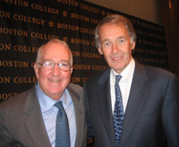 Ken Hackett and Edward Markey