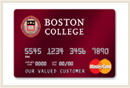 Boston College Visa Card